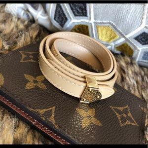 Louis Vuitton Double Wrap Bracelet